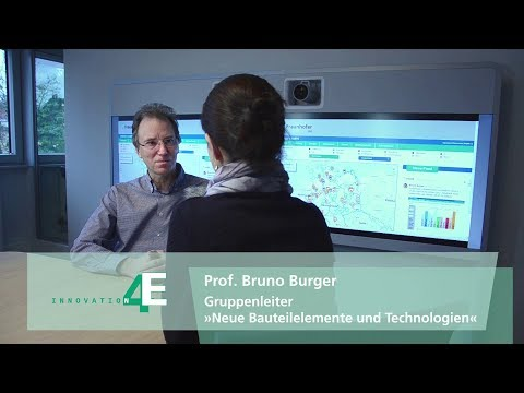 Energy Charts – Innovation 4E im Interview mit Prof. Bruno Burger