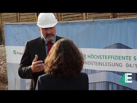 Prof. Stefan Glunz im Interview zum »Zentrum für höchsteffiziente Solarzellen«