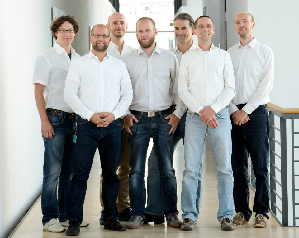 Core team of the TestLab Solar Thermal Systems. @Fraunhofer ISE