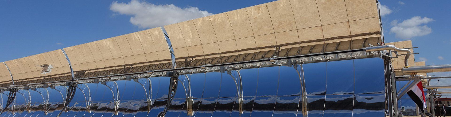Das MATS-Kraftwerk, basierend auf Parabolrinnenkollektoren mit einer Kollektorfläche von 10.000 m², liefert eine elektrische Leistung von 1 MW. Es deckt auf Abruf den Strombedarf von mehr als 1.000 Menschen und kann durch Nutzung der Abwärme täglich etwa 250.000 Liter Wasser entsalzen.
