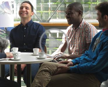 Folge 03: Auf einen Espresso mit…  den SOLAR-TRAIN Stipendiaten