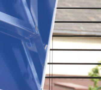 Weltneuheit: Solarthermische Jalousie liefert Energie für Gebäude