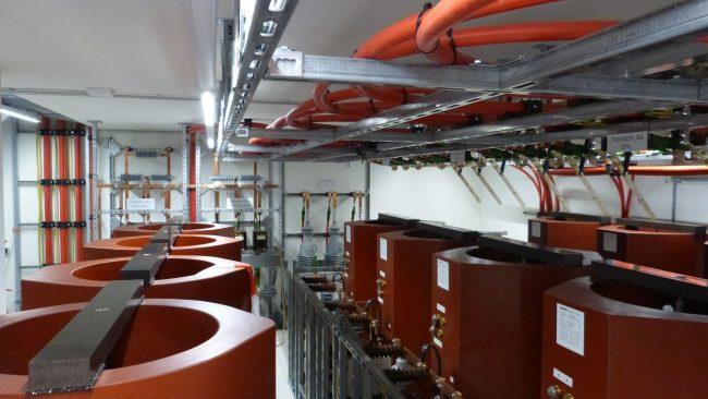 Prüfeinrichtung im Multimegawattlabor
