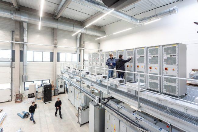 Multimegawatt-Labor des Fraunhofer ISE