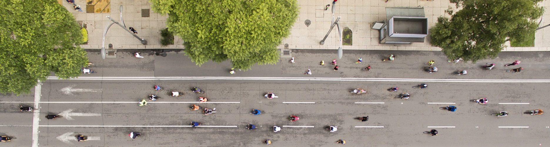 Reforma Boulevard in Mexiko City