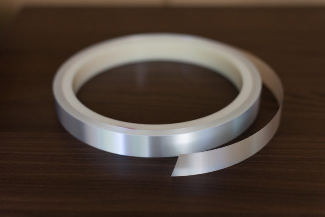 A solar energy optics reflector tape by ICS – flexible application possible