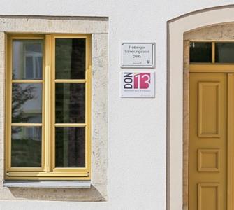 Einfamilienhaus in Freiberg mit Sole-Wasser-Wärmepumpe, geplant durch die geoENERGIE-Konzept GmbH. © Bundesverband Wärmepumpe (BWP) e.V.