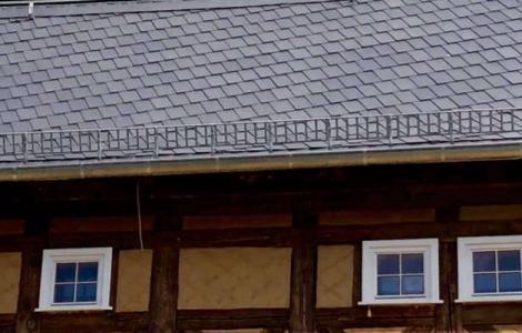 Elbschifferhaus Umgebinde. Ein Referenzobjekt des Bundesverband Wärmepumpe (BWP) e.V.© BWP.